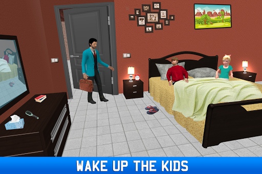 Virtual Single Dad Simulator: Happy Father apkmartins screenshots 1