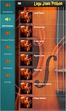 Lagu tembang jawa dan Campursari pilihan screenshot thumbnail
