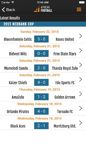 african football screenshot 3