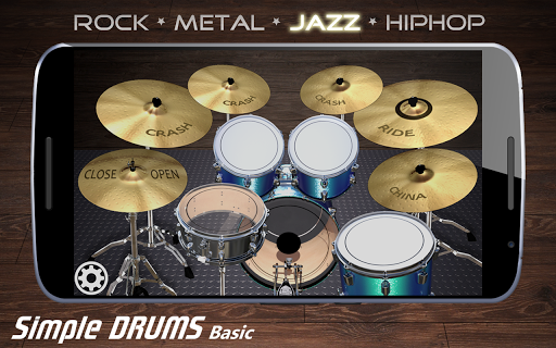 Simple Drums Basic - Virtual Drum Set 1.2.9 Screenshots 6