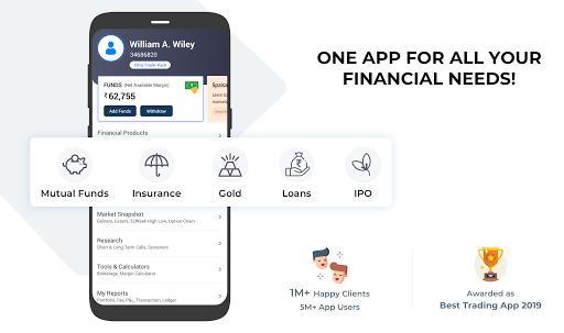 5paisa: Stocks, Share Market Trading App, NSE, BSE  screenshots 1
