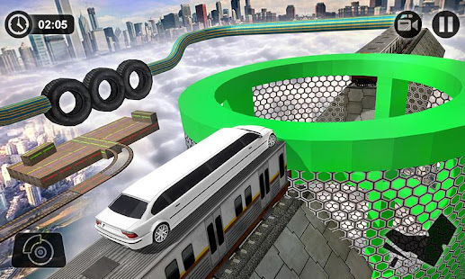 Extreme Limo Car Gt Stunts 2019 1.4 screenshots 2