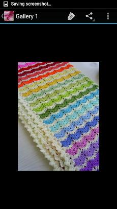 かぎ針編みの毛布のおすすめ画像3