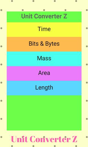 Unit Converter Z 1.1 screenshots 1