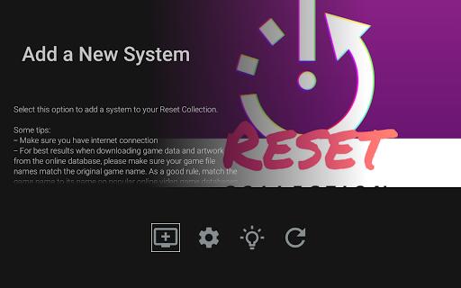 RESET Collection (Emulator Frontend) apkdebit screenshots 10