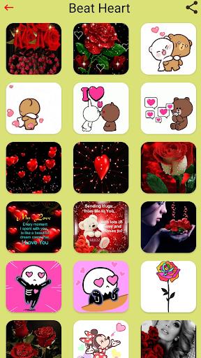 Happy Birthday GIFs & Love Roses Sticker  screenshots 4