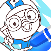 Pororo SketchBook - Painting, Coloring for Kids