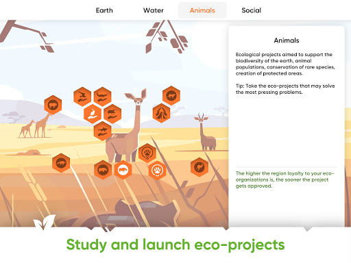 Save Earth.Offline ecology strategy learning game 1.2.019 screenshots 8