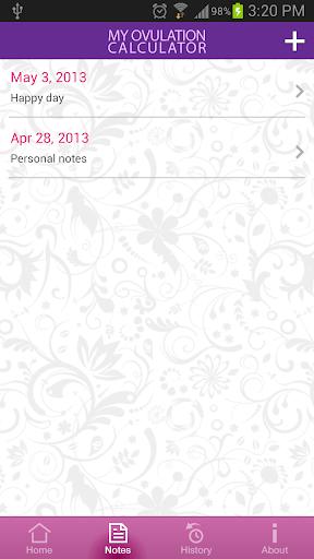 My Ovulation Calculator 3.4.3 screenshots 4