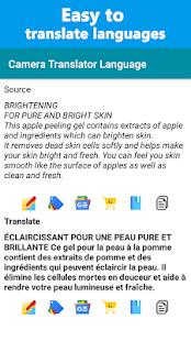 Camera Translator - Live Translation App 3.4.1 Screenshots 4