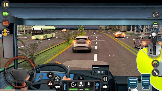 Modern Bus Simulator Drive 3D: New Bus Games Free 8