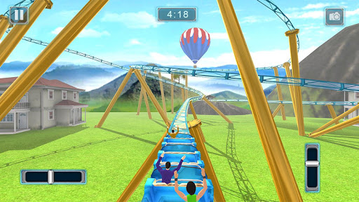 Reckless Roller Coaster Sim: Rollercoaster Games  screenshots 15