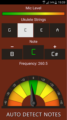 Ukulele Tuner Free 12.0 Screenshots 6