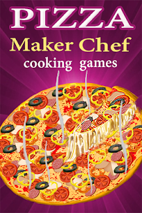 Pizza Maker Chef Cooking Games 47.49 APK (Mod) Newest 1