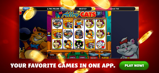 Clickfun Casino Slots modiapk screenshots 1