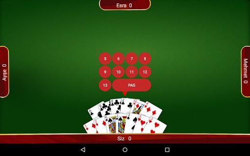Batak - Tekli, Eu015fli u0130nternetsiz Batak 3.16.5 screenshots 17