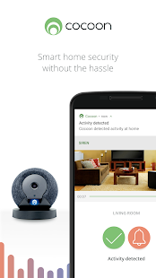 Cocoon - Smart Home Security screenshots 1