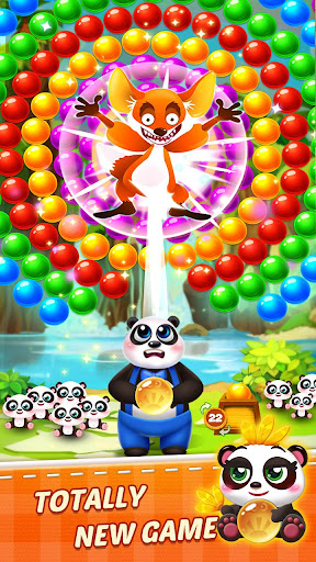 Bubble Shooter 5 Panda modiapk screenshots 1