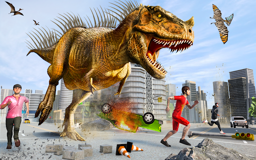 Extreme City Dinosaur Smasher 3D City Riots 1.42 screenshots 2