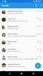 screenshot of Kontalk Messenger