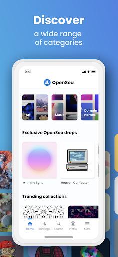 OpenSea: NFT marketplace screenshots 2