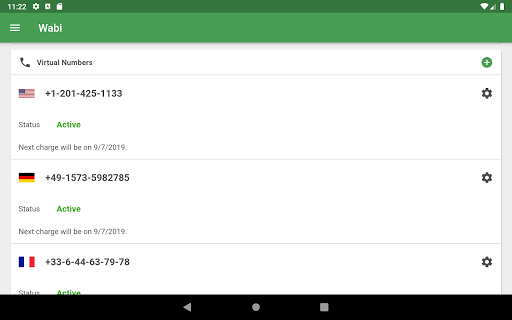 Wabi - Virtual Number for WhatsApp Business 2.8.0 Screenshots 9