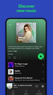 Spotify Premium Mod Apk 8.6.62.197 Unlimited Music Free Download 6