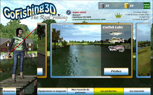 GoFishing3D The Real Fishing APK MOD – ressources Illimitées (Astuce) screenshots hack proof 2