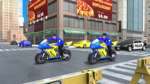 US Police Bike Gangster Crime - Bike Chase Game 3D 1.12 Screenshots 3