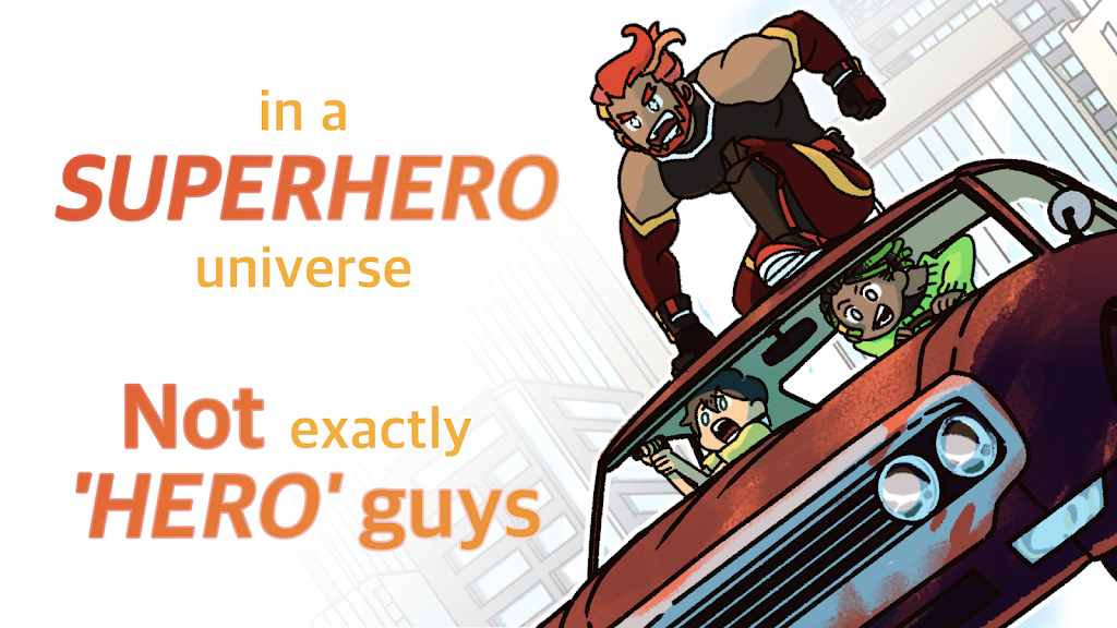 Not Exactly A Hero!: Interactive Action Story Game  poster 9