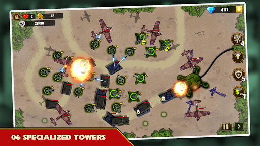 Tower Defense: Toy War  screenshots 2