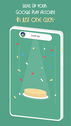 Level Up Button - Free EXP for Google Play Games.  screenshots 1