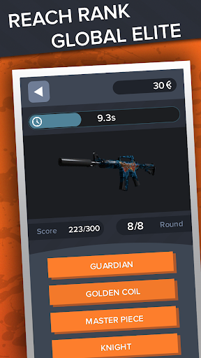 Ultimate Quiz for CS:GO - Skins | Cases | Players apkdebit screenshots 21