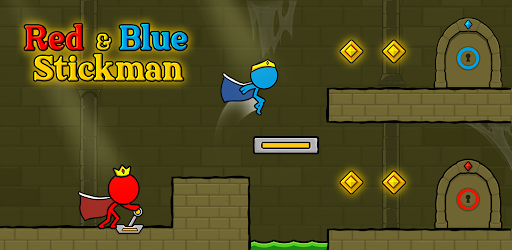 Red and Blue Stickman : Animation Parkour .APK Preview 0