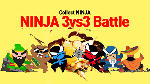 Jumping Ninja Battle - Two Player battle Action 3.98 screenshots 15