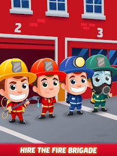 Idle Firefighter Tycoon APK , Fire Emergency Manager APK Download 20