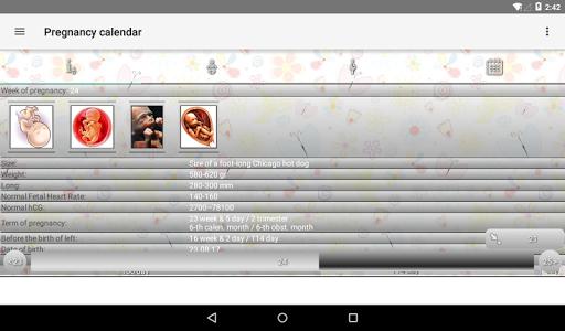 Pregnancy Calendar 2.5.1 Screenshots 14