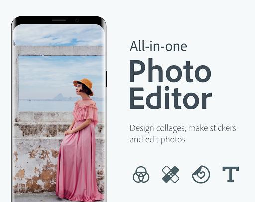 Adobe Photoshop Express:Photo Editor Collage Maker screen 0