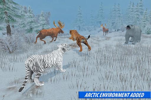 Tiger Family Simulator: Angry Tiger Games apkdebit screenshots 9