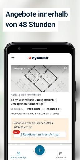 MyHammer Handwerkersuche ud83dudd28 4.1.0 Screenshots 3