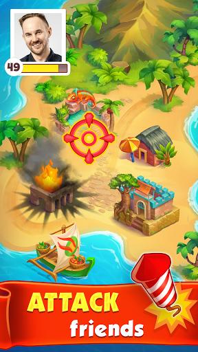 Spin Voyage: raid coins, build and master attack!  screenshots 4