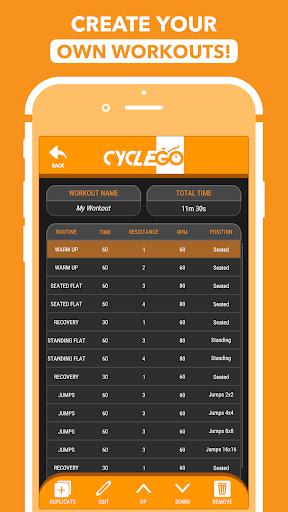 CycleGo - Indoor Cycling Workouts 3.4.1 Screenshots 6