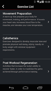 Fitness Preparation