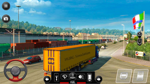 Euro Truck Parking Simulator 2021: 3d parking Game Apkfinish screenshots 11