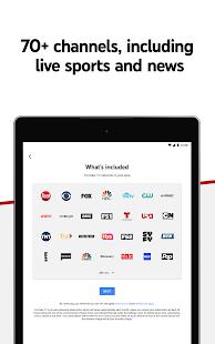YouTube TV: Live TV & more screenshots 7