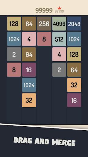 2048 Merge Numbers apkpoly screenshots 3