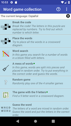 Word Game Collection(Free) modavailable screenshots 1