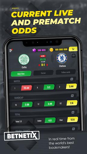 BetNetix - Sports Betting Game, Betsim with Odds  screenshots 4