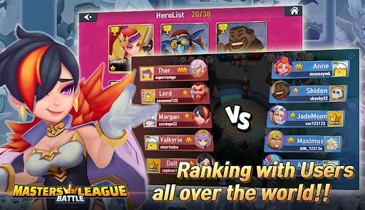 Masters Battle League 5v5 : Legend MOBA PvPTrainer screenshots 15