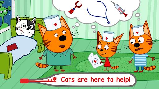 Kid-E-Cats Animal Doctor Games for Kidsu30fbPet Doctor  screenshots 3